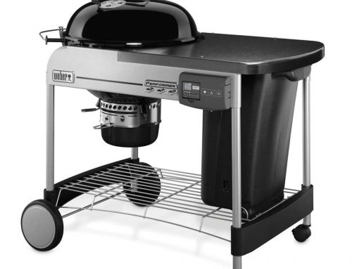 BARBECUE PERFORMER DELUXE GBS GOURMET GRILL 57 BLACK